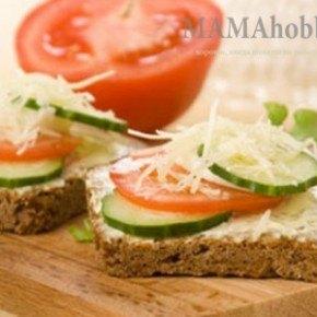Начинаем день с бутерброда
