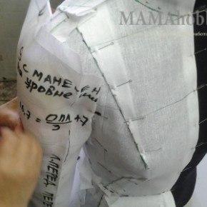 Увлекательный метод наколки на манекене
