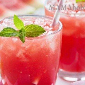 Утоляем жажду напитком из арбуза