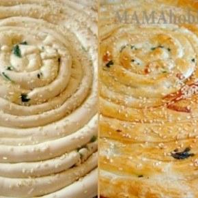 Пирог-улитка