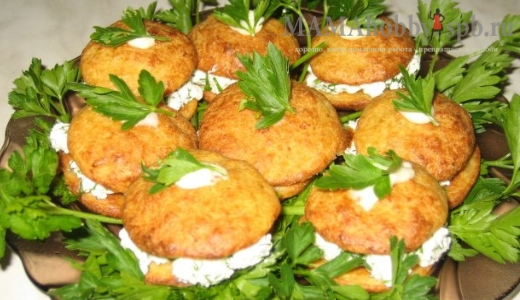 Пирожные из цветной капусты